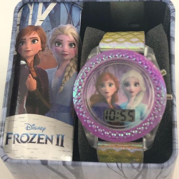 Disney Frozen II anna and Elsa digital watch gift